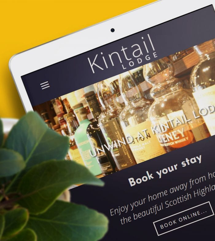 hotel web design scotland