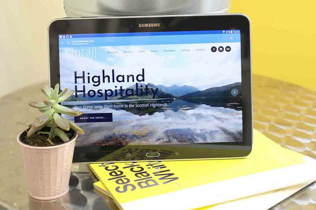 website design in scotland