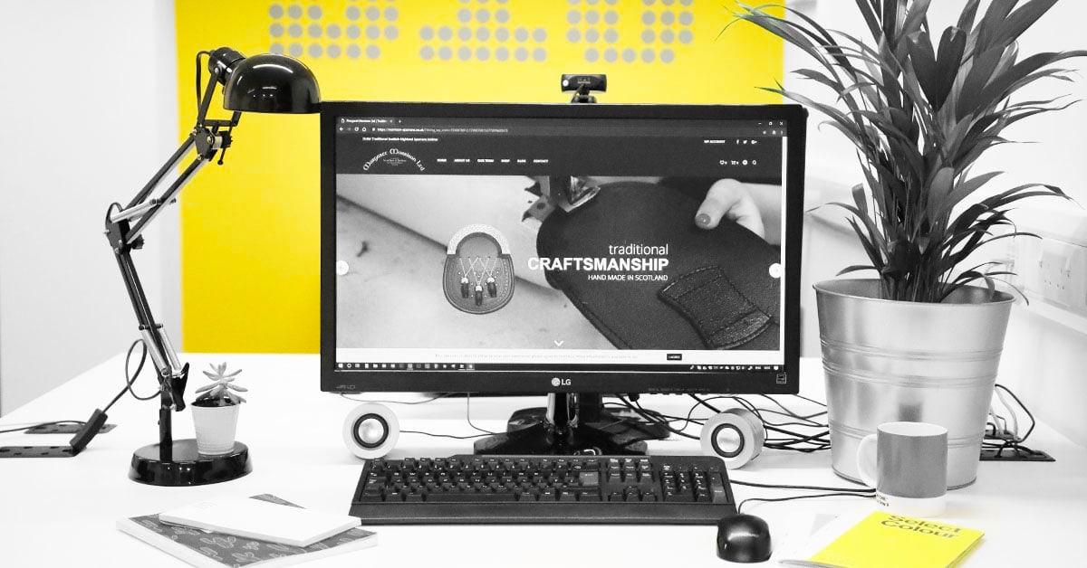 ecommerce web design dundee
