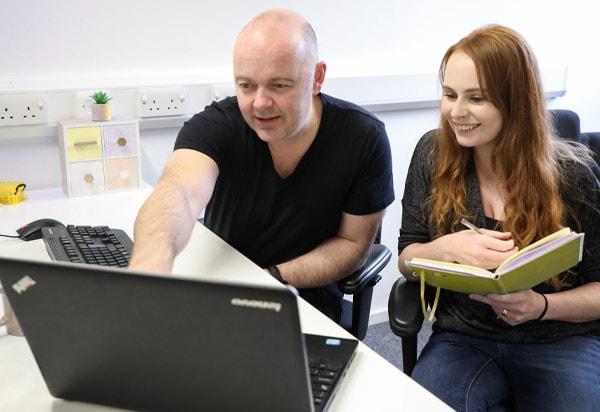 dundee community support scotland website design