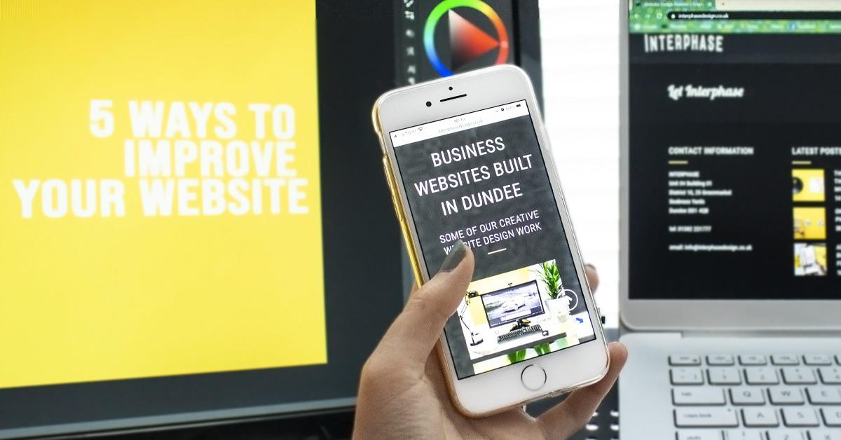 dundee website design seo
