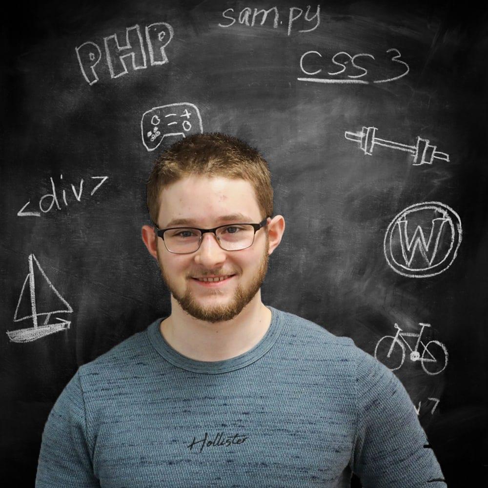 sam henderson web designer