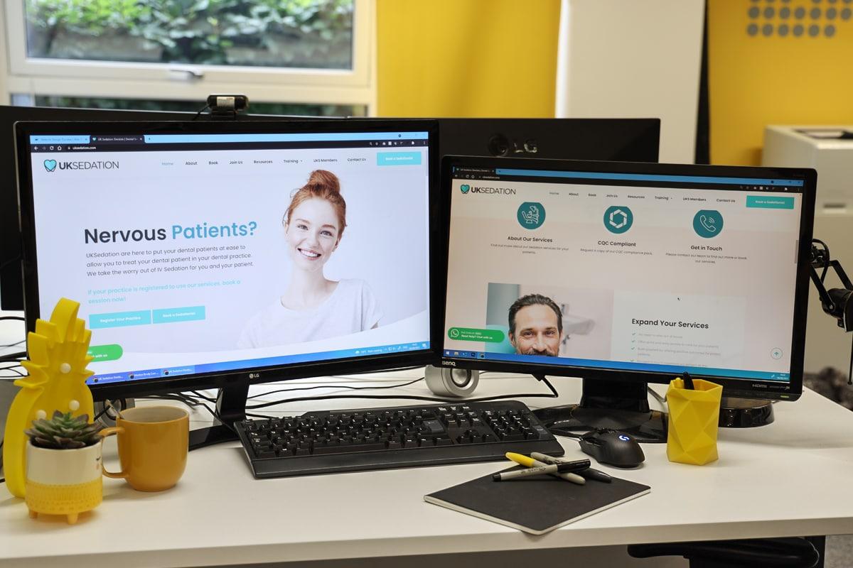 dental website design scotland